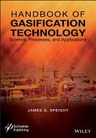 Handbook of Gasification Technology PDF