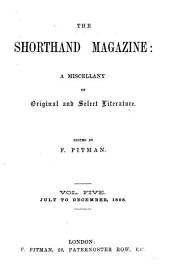 The Shorthand magazine, ed. by F. Pitman
