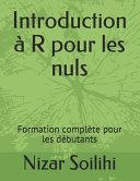 Introduction    R Pour les Nuls PDF