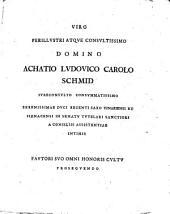 De pactis successoriis illustrium et nobilium Germaniae ...