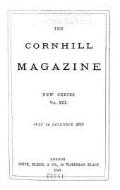 The Cornhill Magazine: Volume 13; Volume 60