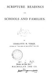 Scripture readings for schools and families, by C.M. Yonge: Volume 1