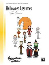 Halloween Costumes: Early Elementary Piano Solo with Optional Duet Accompaniment