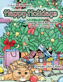 Color by Numbers Happy Holidays Coloring Book for Adults