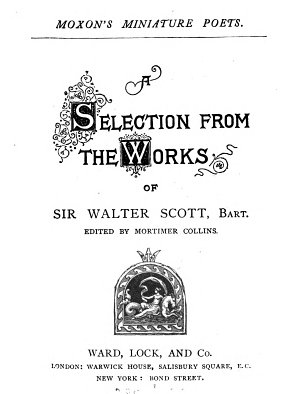 A selection from the works of sir Walter Scott  Ed  by M  Collins PDF