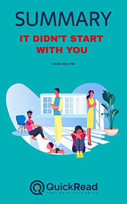 It Didn   t Start With You by Mark Wolynn