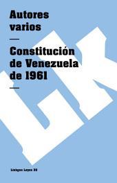 Constitución de Venezuela de 1961