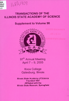 Program and Abstracts of Illinois State Academy of Science     Annual Meeting PDF