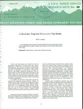 A sex-lure trap for Rhyacionia tip moths