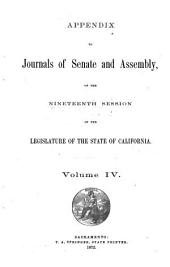 Journal: Appendix. Reports, Volume 4