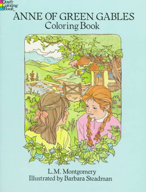 Anne of Green Gables Coloring Book PDF