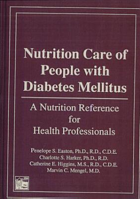 Nutrition Care of People with Diabetes Mellitus