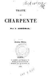 Traité de charpente