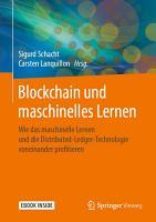 Blockchain und maschinelles Lernen PDF