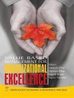 Value Based Management For Organizational Excellence PDF