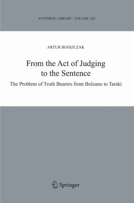 From the Act of Judging to the Sentence PDF