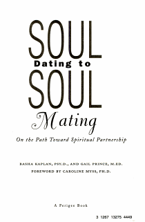 Soul Dating to Soul Mating PDF