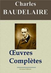 Charles Baudelaire : Oeuvres complètes et annexes — 54 titres (Nouvelle édition enrichie)