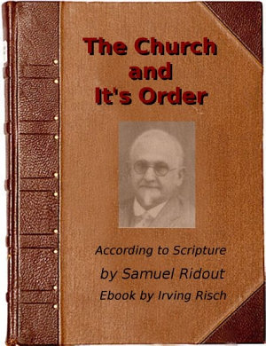 The Church and It s Order