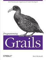 Programming Grails PDF