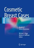 Cosmetic Breast Cases PDF