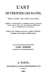 L'Art de vérifier les dates depuis l'année 1770 jusqu'à nos jours: 1837