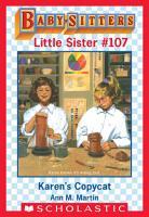 Karen s Copycat  Baby Sitters Little Sister  107  PDF