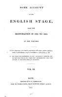 Some Account of the English Stage  from the Restoration in 1660 to 1830 PDF