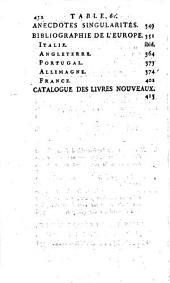 L'Esprit des journaux, françois et étrangers. Par une société de gens-de-lettres: Octobre, 1782, Volume10