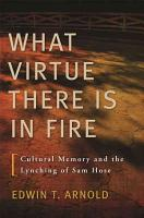 What Virtue There Is in Fire PDF