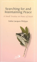 Searching for and Maintaining Peace Book