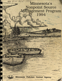 Minnesota s Nonpoint Source Management Program 1994