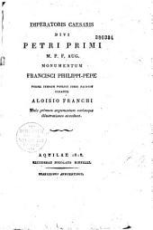 Imperatoris Caesaris: Petri Primi