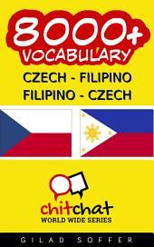 8000+ Czech - Filipino Filipino - Czech Vocabulary