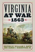 Virginia at War  1863 PDF