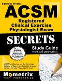 Secrets of the ACSM RCEP Exam