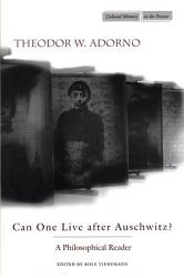 Can One Live After Auschwitz  Book PDF