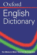 Oxford English Minidictionary PDF