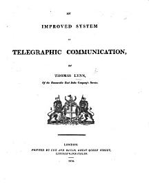 An Improved System Of Telegraphic Communications   Continuation Of The General Vocabulary  Supplementary Vocabulary