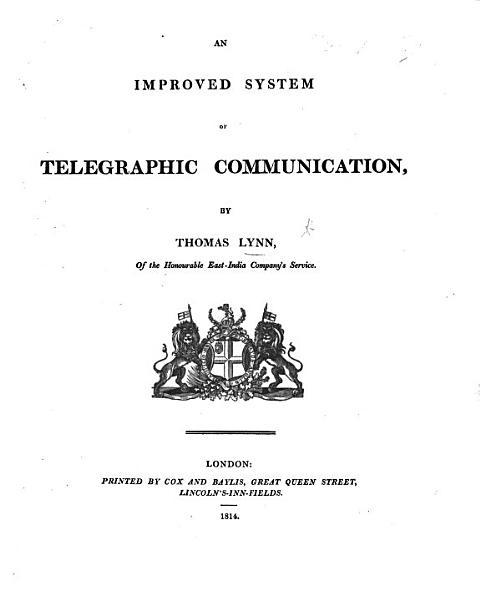 An improved system of telegraphic communications. (Continuation of the general vocabulary. Supplementary vocabulary.).