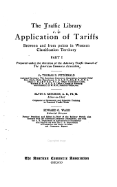 Application of tariffs between and from points in western classification territory, by T.D. Fitzgerald