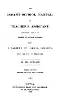 The Infant School Manual PDF