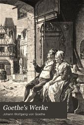 Goethe's werke: Band 2