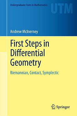 First Steps in Differential Geometry PDF
