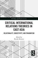 Critical International Relations Theories in East Asia PDF