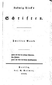 Ludwig Tieck's Schriften: Band 2