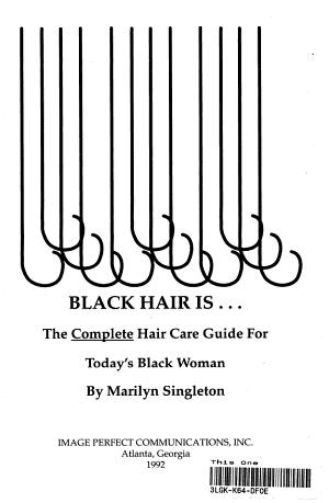 Black Hair Is   PDF