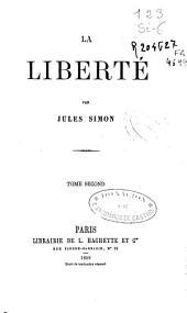 La liberte: Volume2