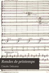 """Rondes de printemps: """"Images"""" pour orchestre, Issue 3"""