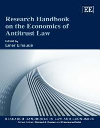 Research Handbook on the Economics of Antitrust Law